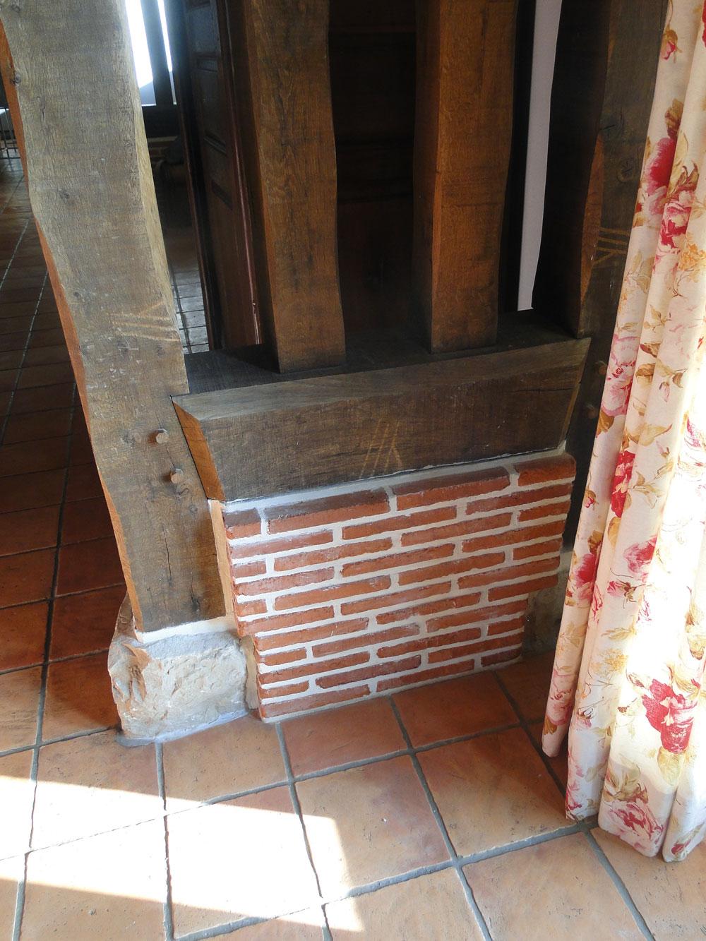 Am nagement int rieur r novation mur construction for Restauration maison normande