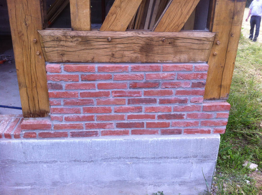 R novation mur ext rieur maison normande construction for Construction mur exterieur quebec