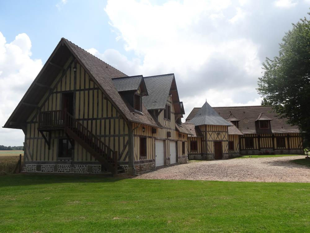 Guillaume tessel construction maison normande r novation colombage dans l 39 eure 27 for Maison de construction