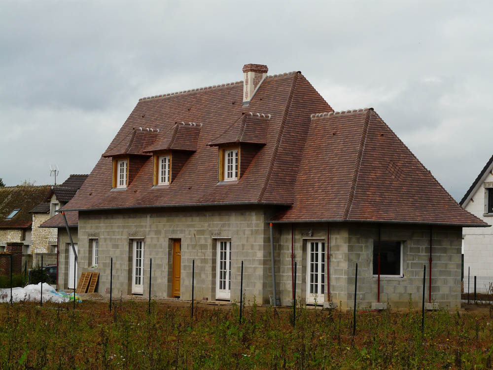 construction maison traditionnelle normande construction