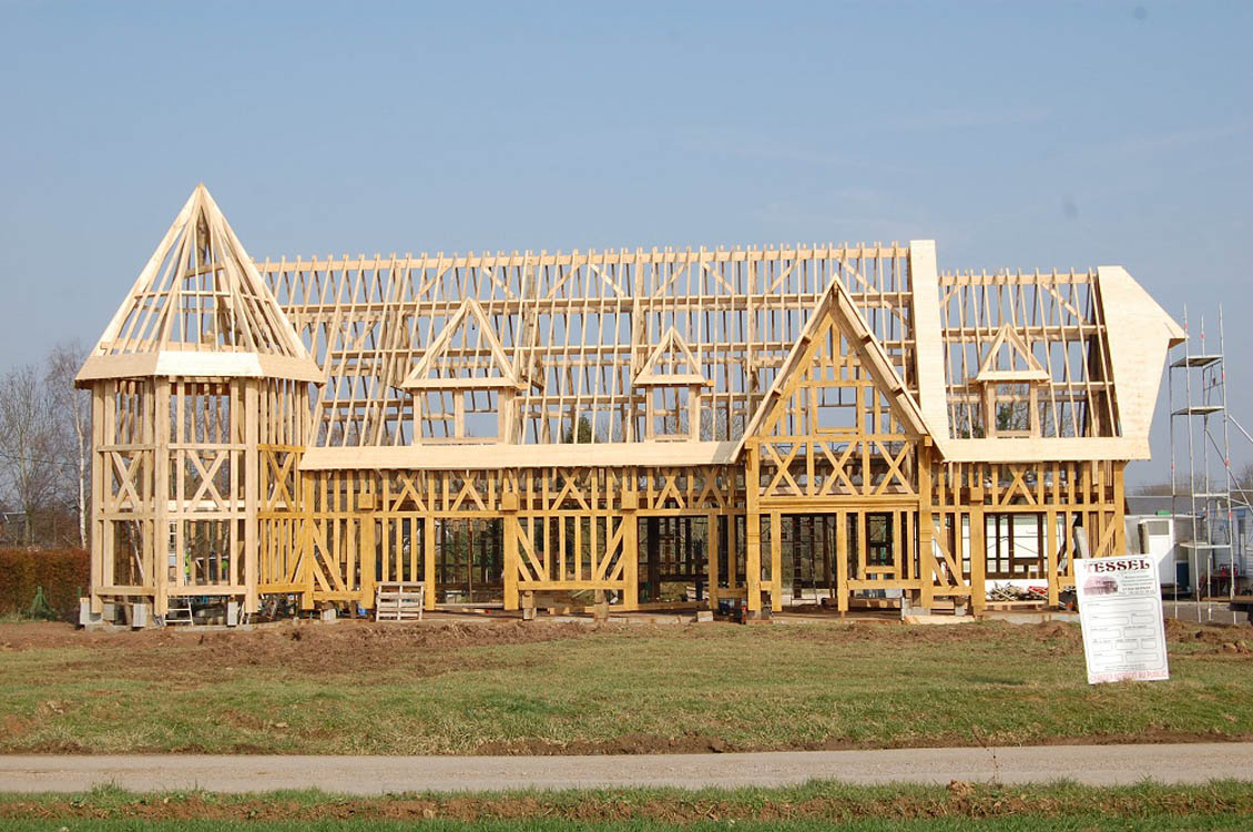 Galerie construction maison normande eure 27 for Constructeur de maison en bois en haute normandie