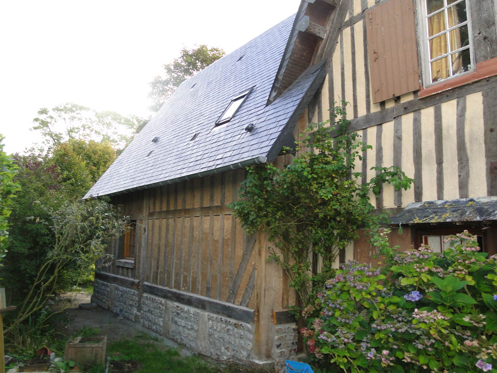Extension traditionnelle normandie construction maison for Constructeur de maison normandie