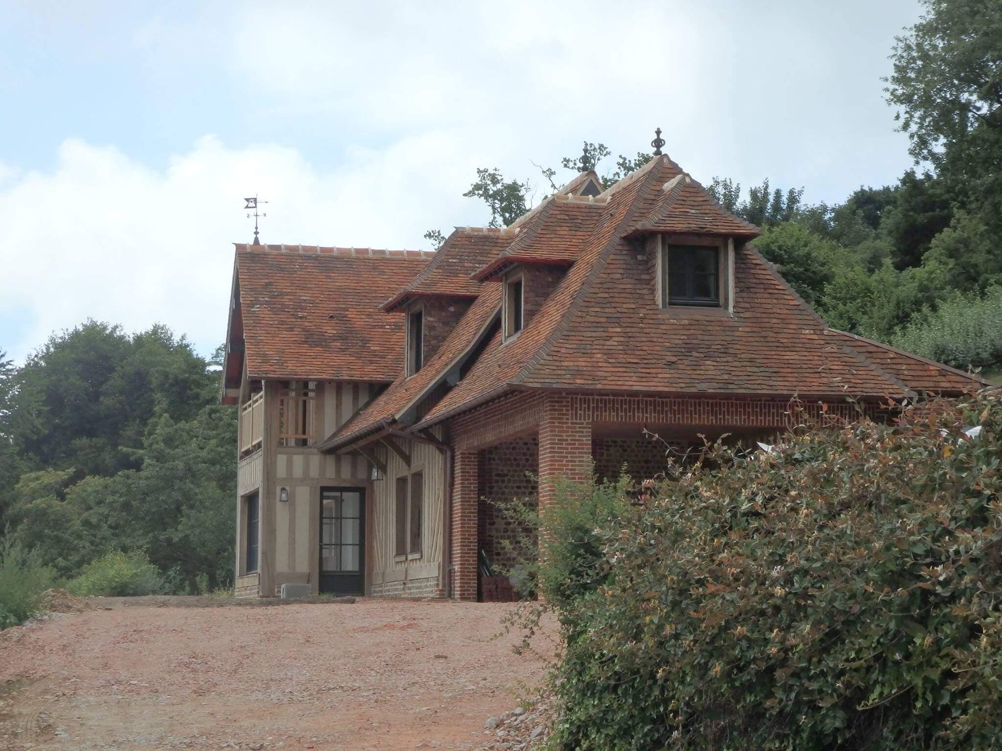 Guillaume tessel constructeur de maison normande dans l for Constructeur de maison normandie
