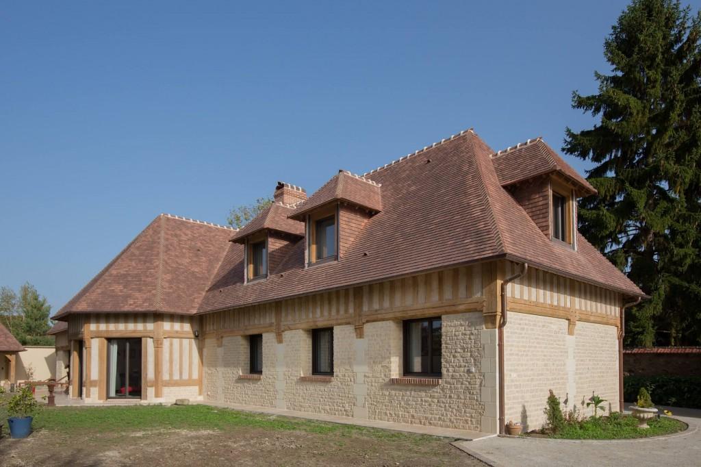 plan de maison normande